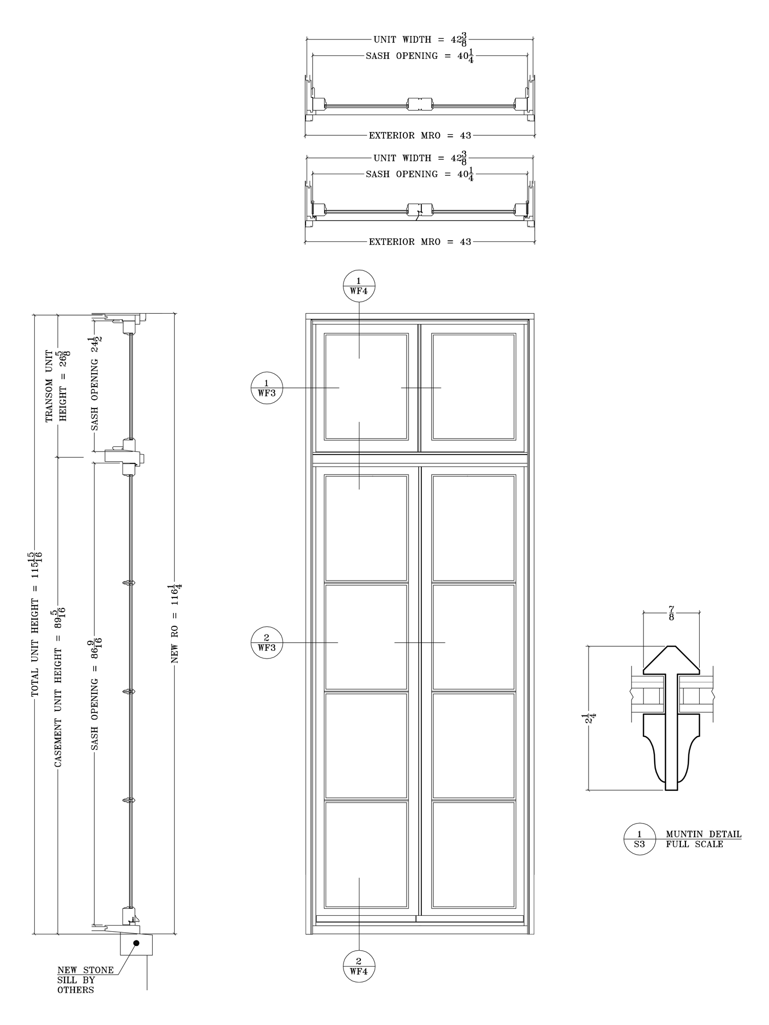 French Doors With Narrow Stiles Architectural Components