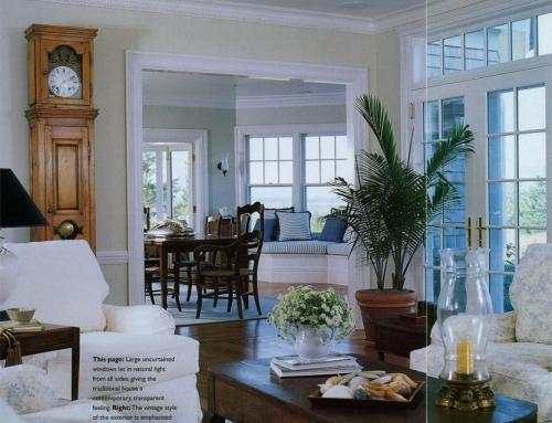 Best of Both Worlds – House Beautiful's Home Building, Spring/Summer 2002