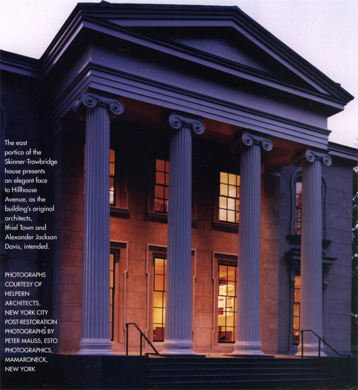 Yale's Skinner-Trowbridge House by Gladys Montgomery Jones – Early American Life, February 2002